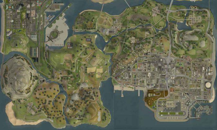 GTA San Andreas xəritələri