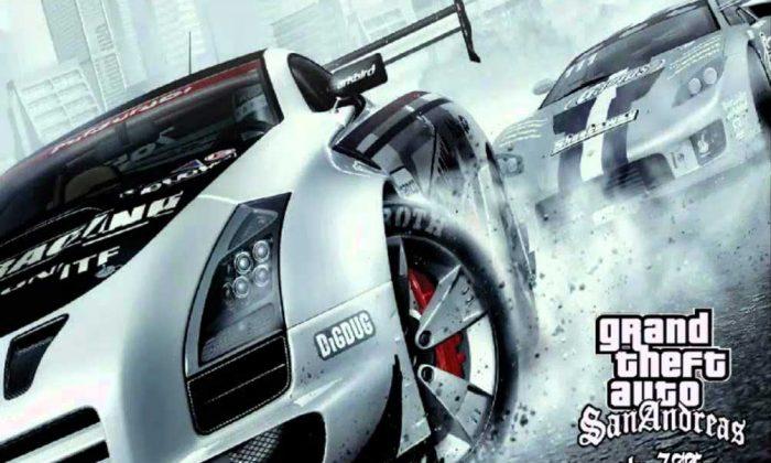 GTA San Andreas Super Cars oyunu