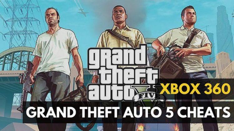 GTA 5 oyunun Xbox və PS3 üçün bütün kodları