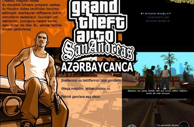 GTA San Andreas Azərbaycan dilində